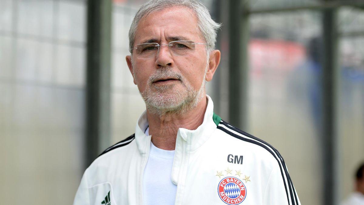 Gerd Müller, la légende du foot allemand.