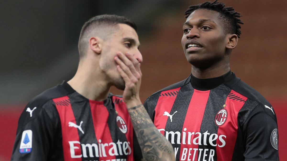 Krunic e Leao delusi in Milan-Napoli