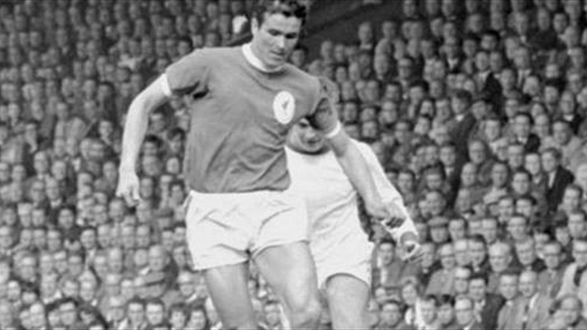 Phil Chisnall, Liverpool - Arsenal 1964