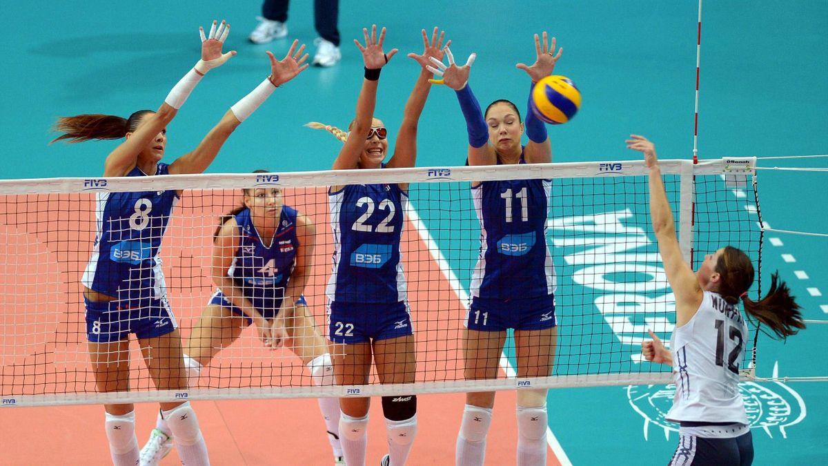 Россия – США на чемпионате мира-2014