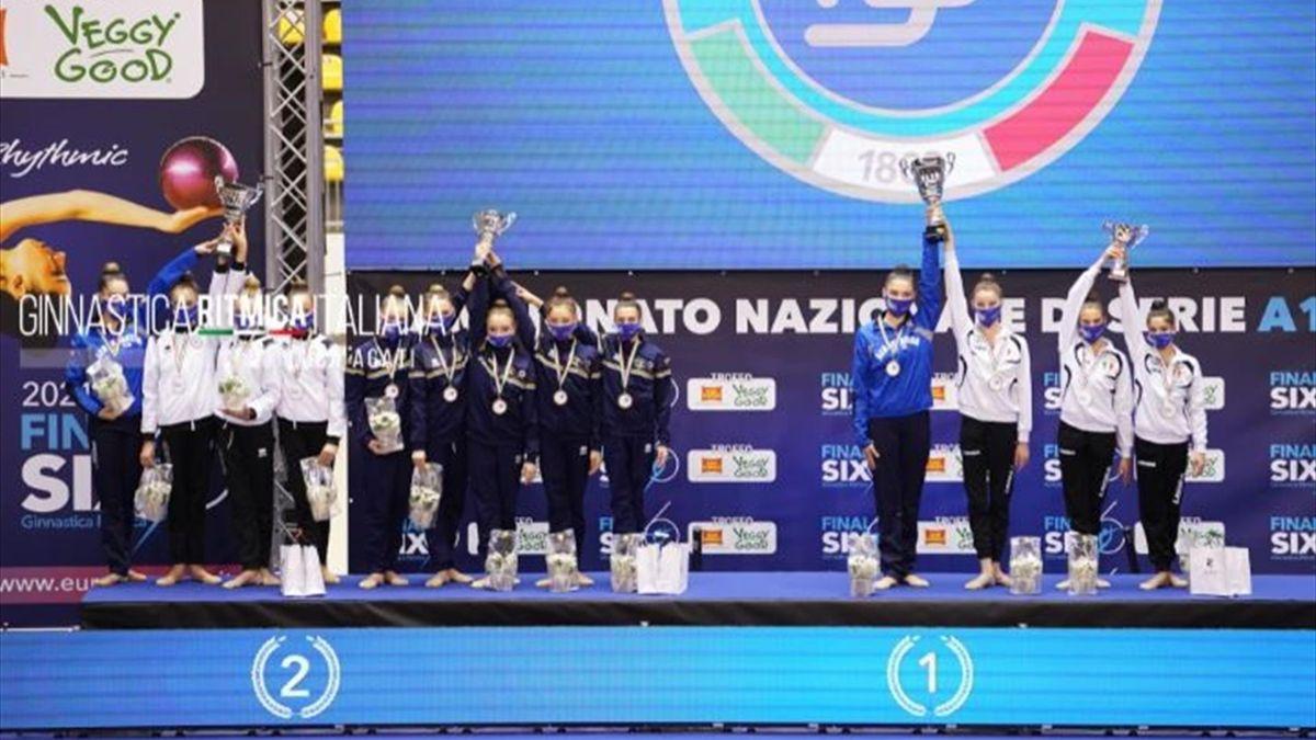 Il podio del Trofeo San Carlo Veggy Good