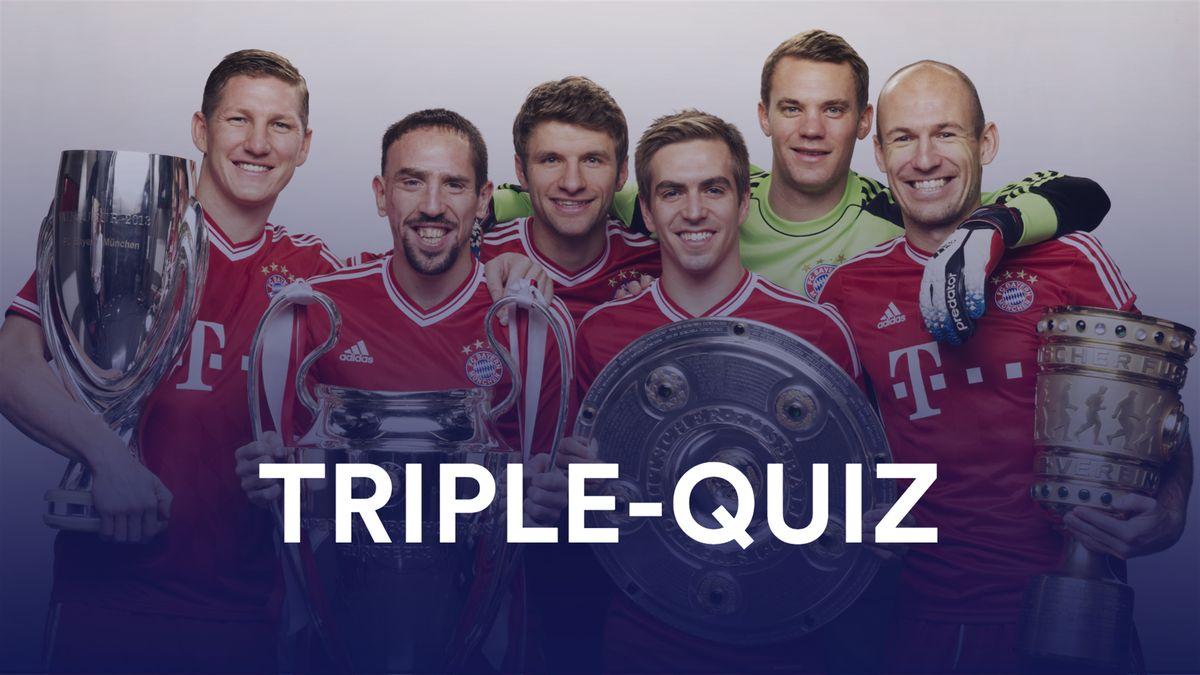 Quiz: Die Triple-Sieger in Europa