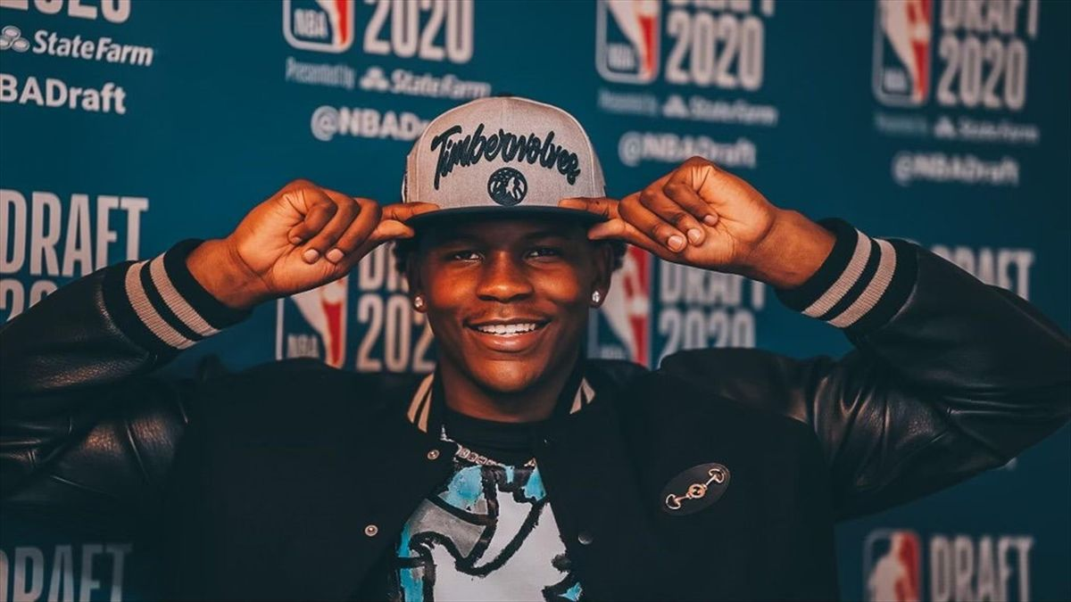 Anthony Edwards choisi en n°1 par les Timberwolves de Minnesota lors de la Draft 2020