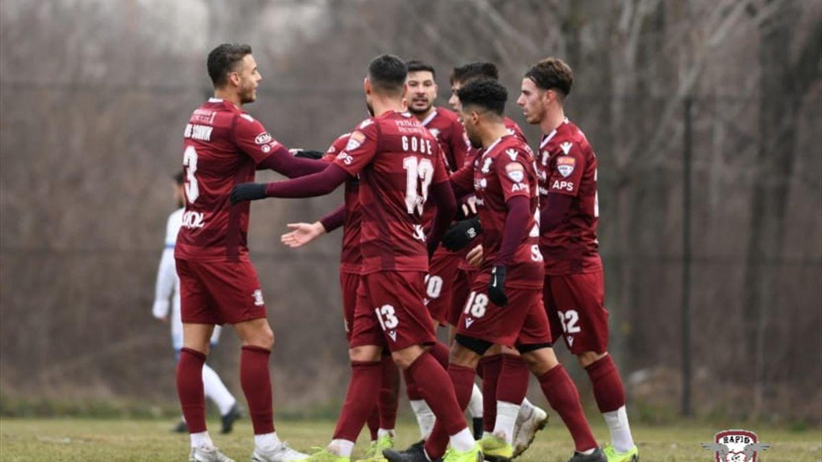 Meciul amical dintre Rapid și Dinamo a fost amânat pentru mâine