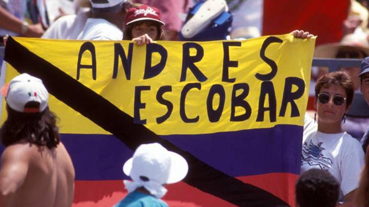 Trauer um Andres Escobar