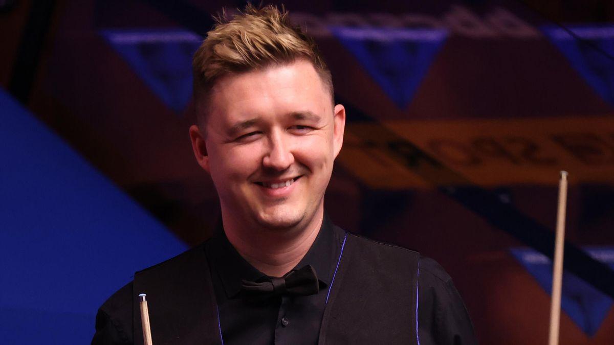 Kyren Wilson at the World Snooker Championship