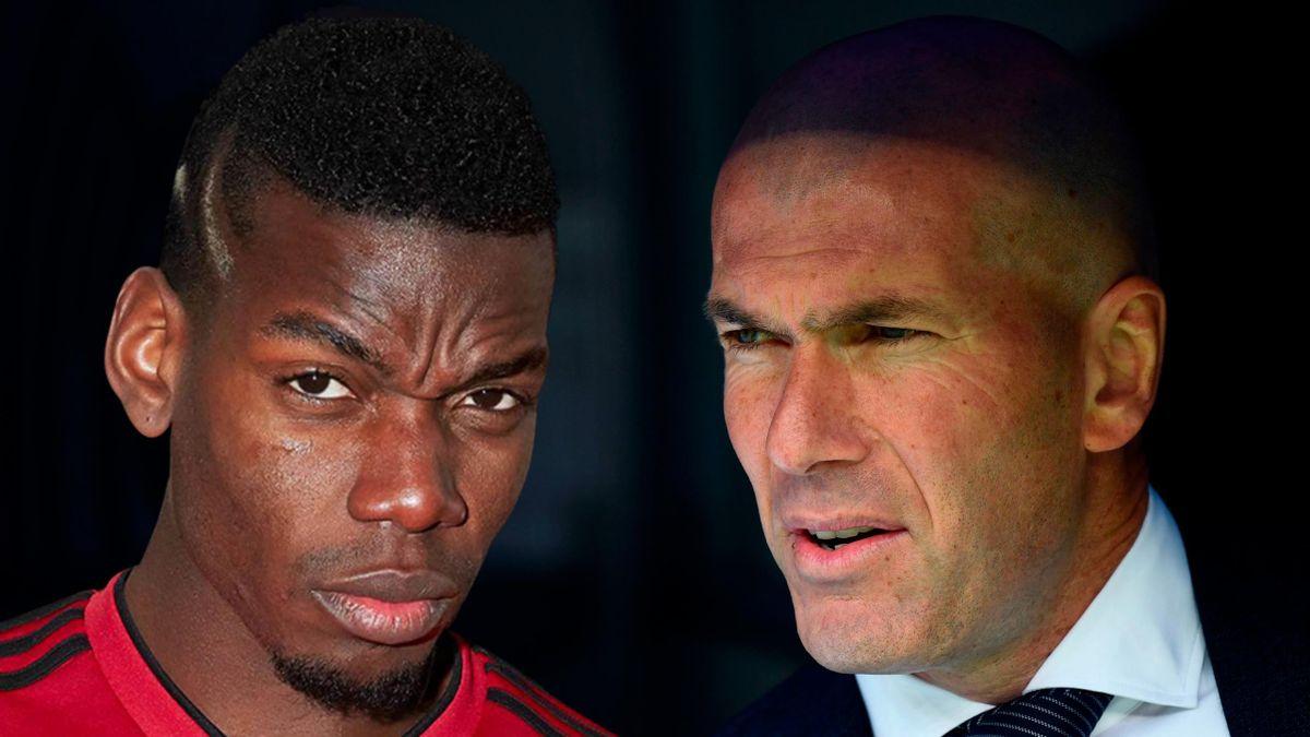 Paul Pogba plaît beaucoup à Zinédine Zidane.