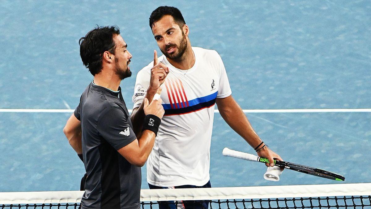 Streithähne Fognini und Caruso bei den Australian Open