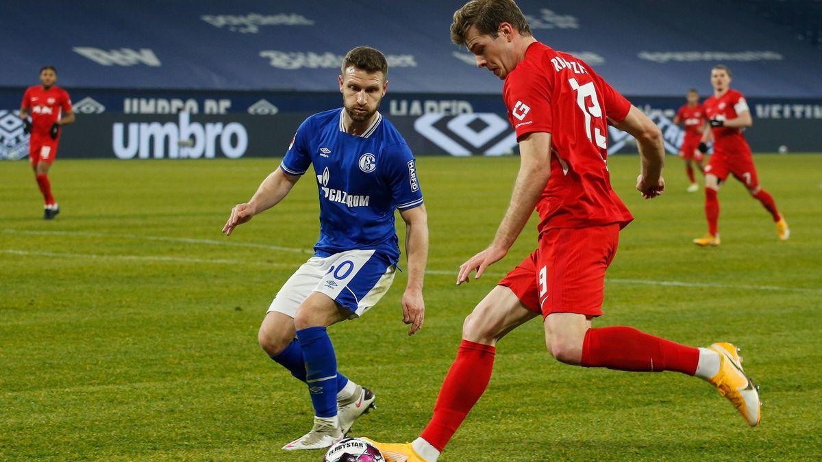 FC Schalke 04 gegen RB Leipzig