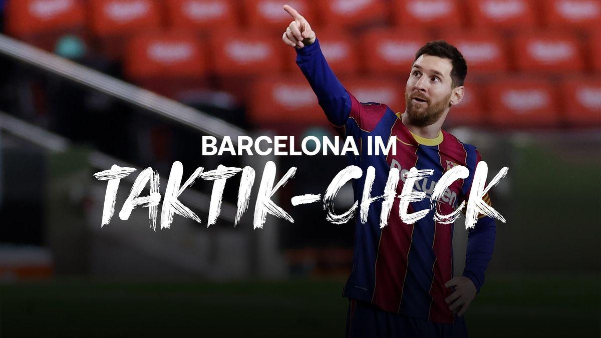 Taktik-Check: Messi prägt das Spiel des FC Barcelona