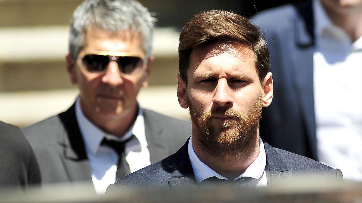 Jorge Messi & Leo Messi