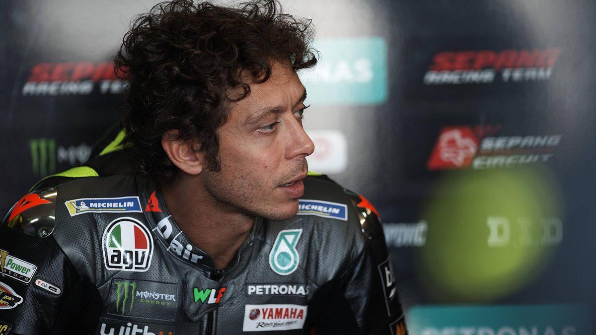 Valentino Rossi durante il Mondiale 2021 di MotoGP