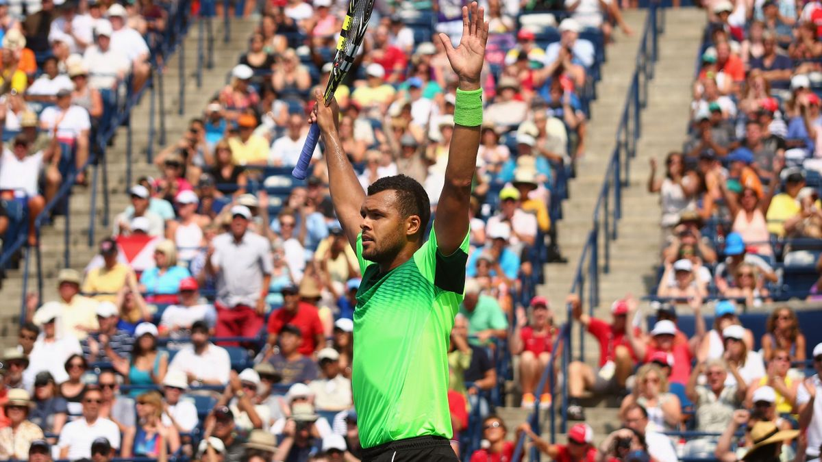 Jo-Wilfried Tsonga en finale d'un Masters 1000 pour la première fois depuis près de trois ans.