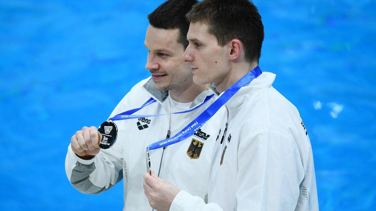 Patrick Hausding (l.) und Lars Rüdiger