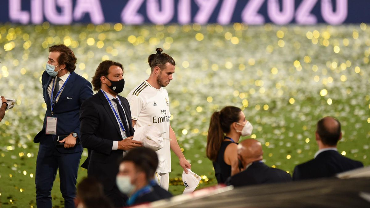 Gareth Bale nu s-a bucurat pentru titlul obținut de Real Madrid