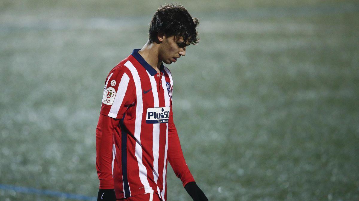 João Félix von Atlético Madrid wurde positiv auf das Coronavirus getestet