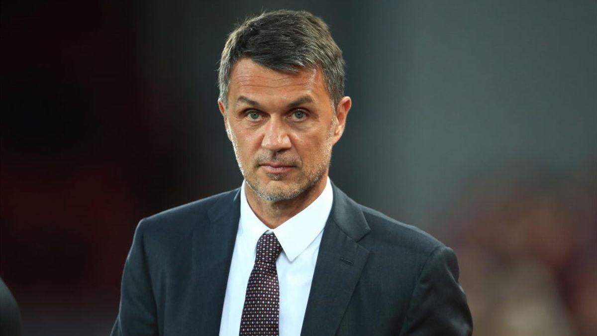 Paolo Maldini, direttore dell'area tecnica del Milan - Stagione 2021-22
