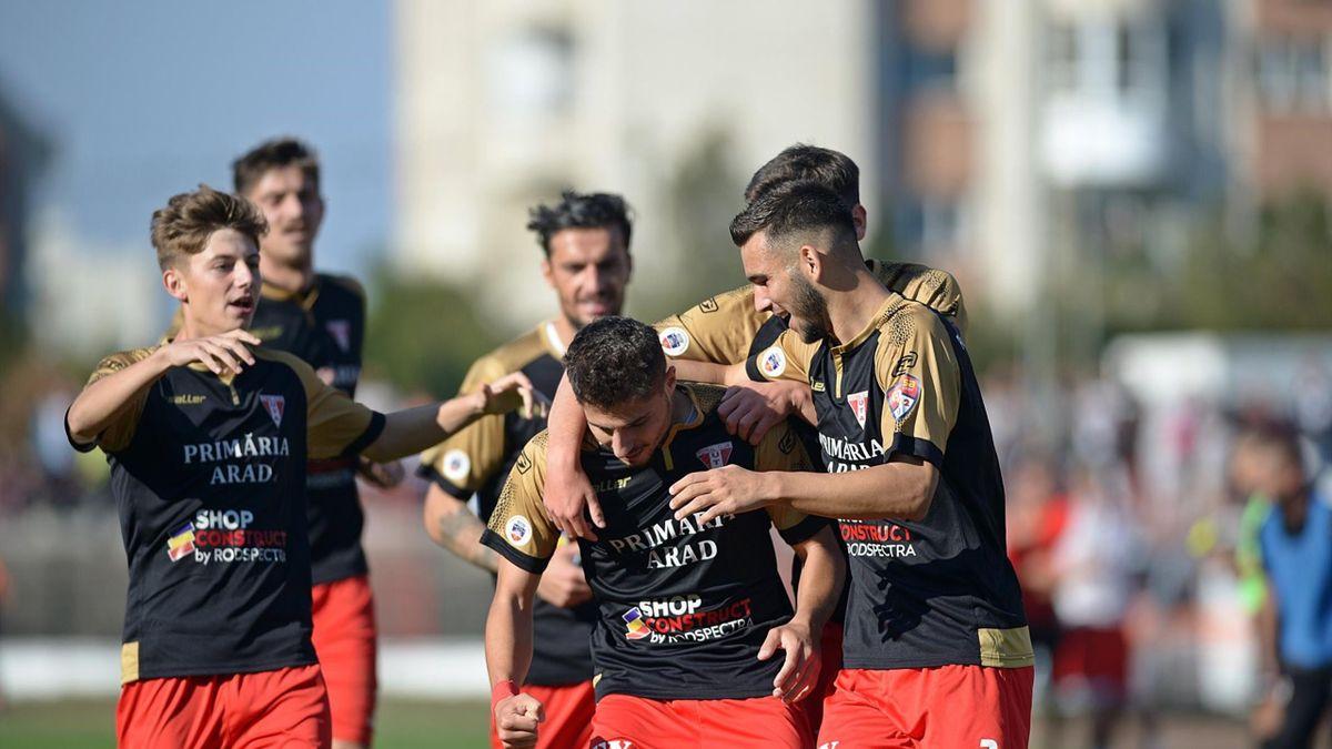 UTA Arad a promovat în Liga 1, după 12 ani