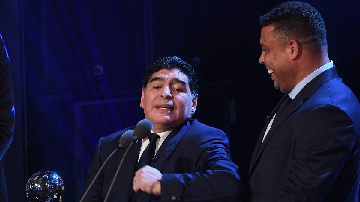 Diego Armando Maradona y Ronaldo Nazario, The Best 2017