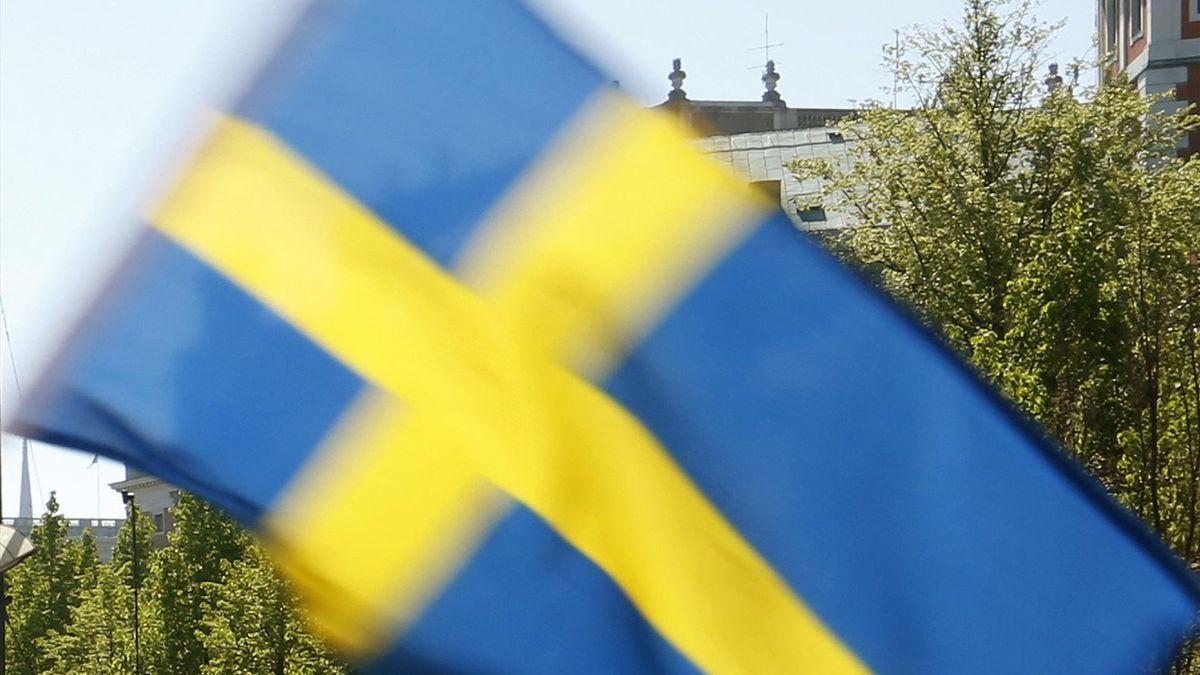 National flag of Sweden.