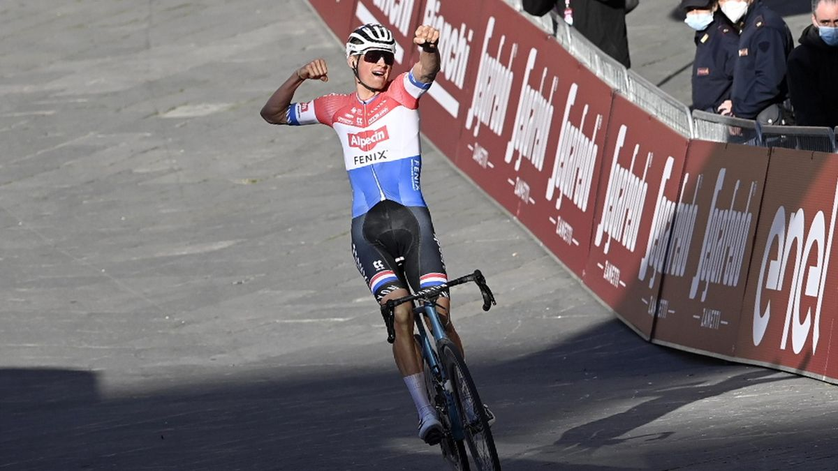 Mathieu van der Poel, victorios în Strade Bianche