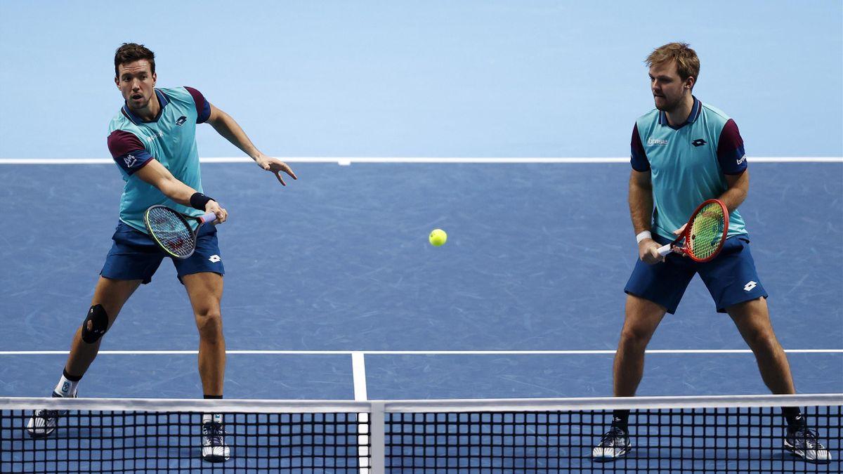 ATP Finals   Andreas Mies (links) und Kevin Krawietz