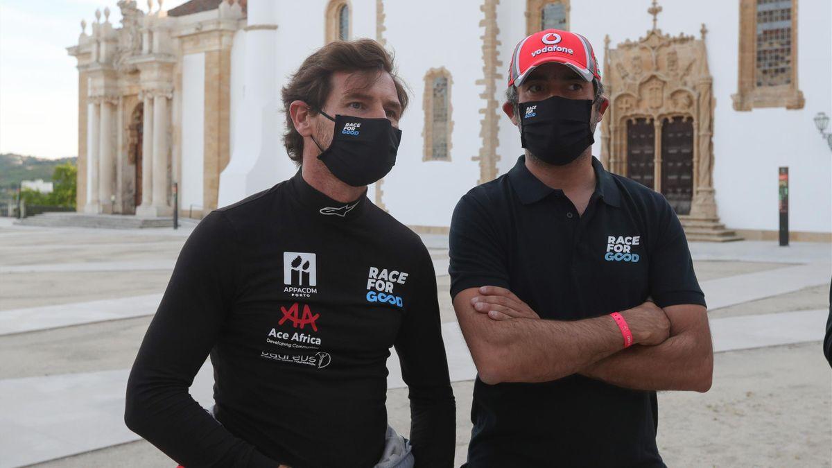 André Villas-Boas lors du Rallye du Portugal WRC 2021