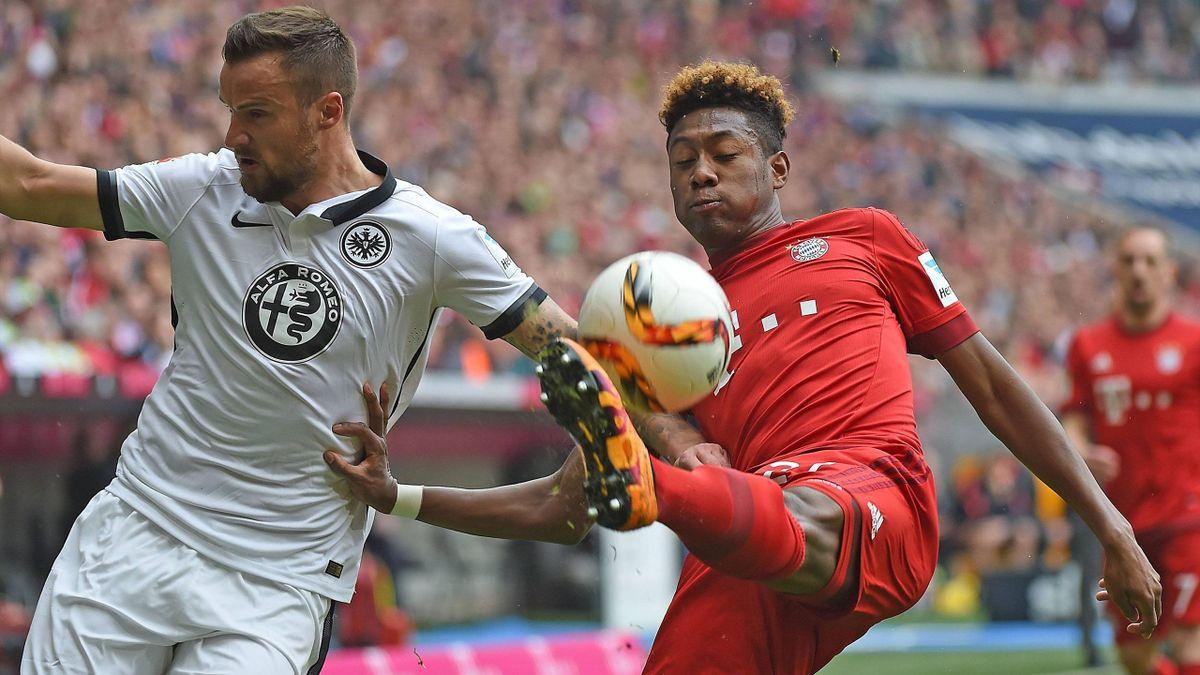 FC Bayern München gegen Eintracht Frankfurt