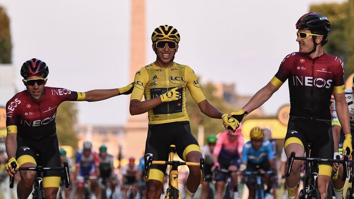 Egan Bernal - stage 21 Tour de France 2019 - Getty Images