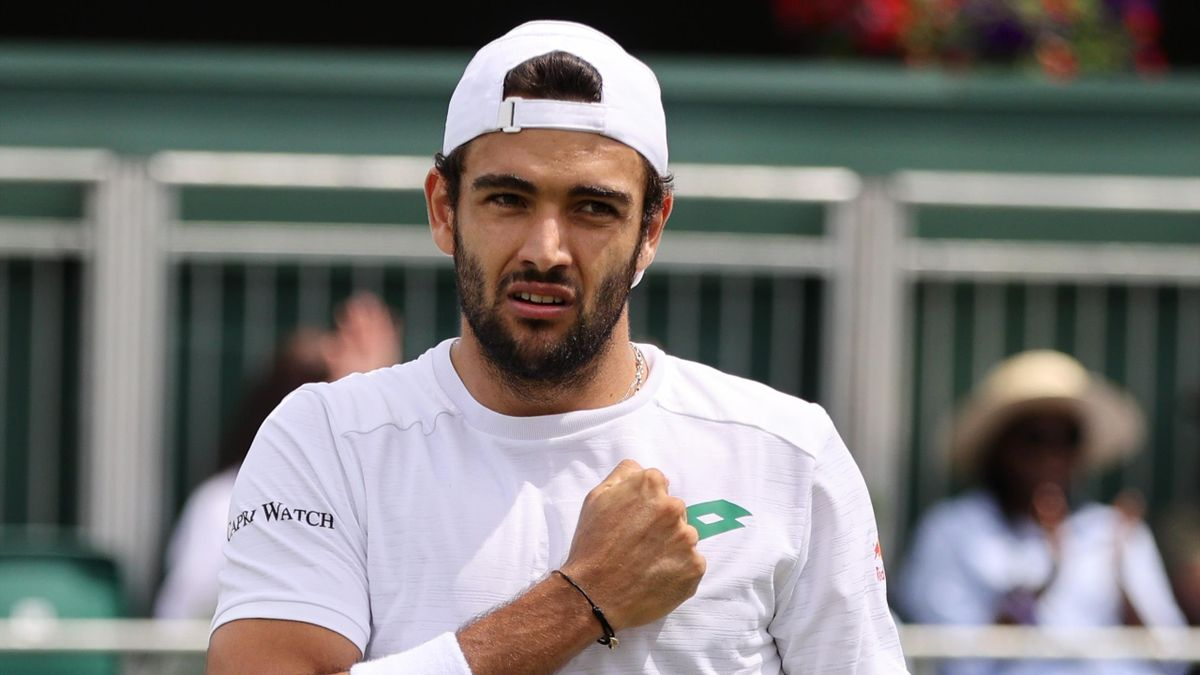 Matteo Berrettini a Wimbledon