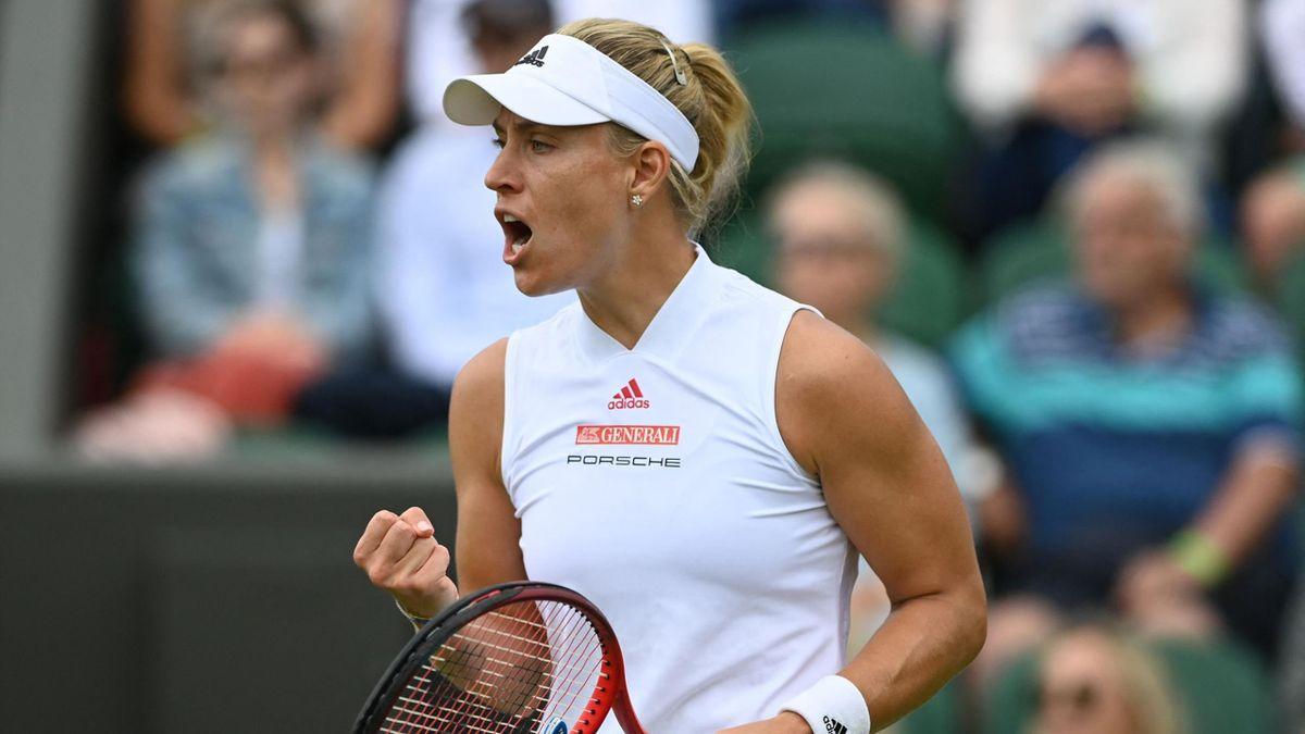 Angelique Keber steht in Wimbledon im Achtelfinale