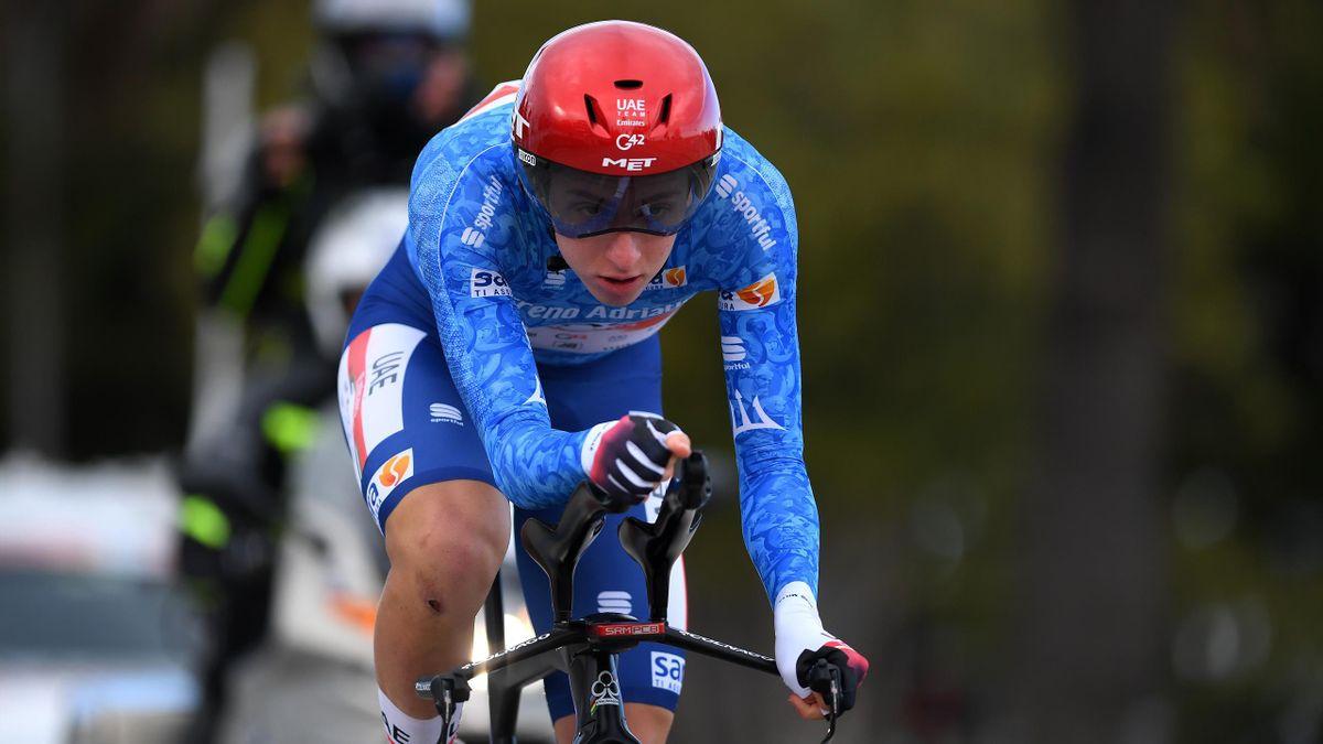 Pogacar wint Tirreno-Adriatico, Wout van Aert de afsluitende tijdrit