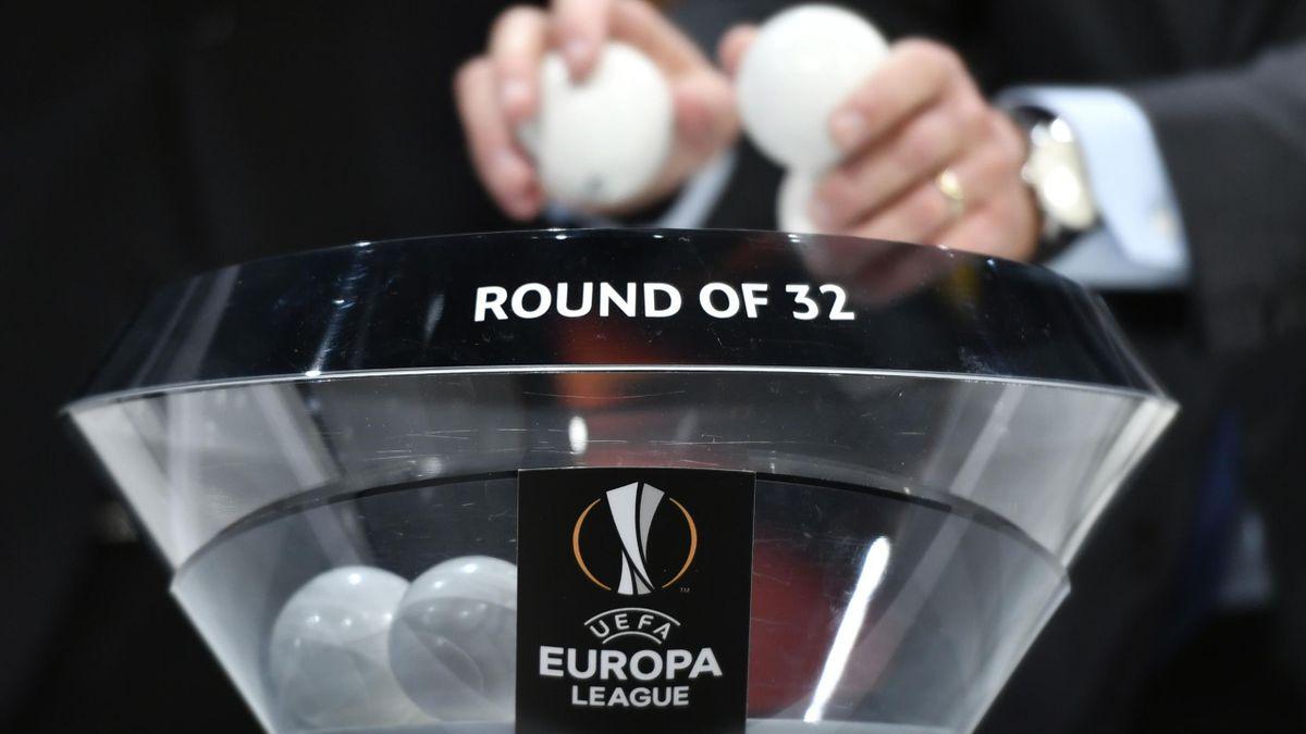 Lostopf bei der Europa-League-Auslosung