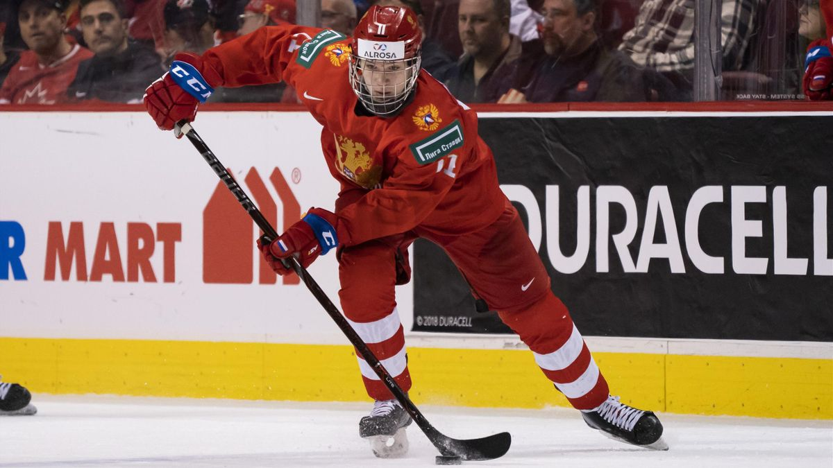 Василий Подколзин, юниорская сборная России