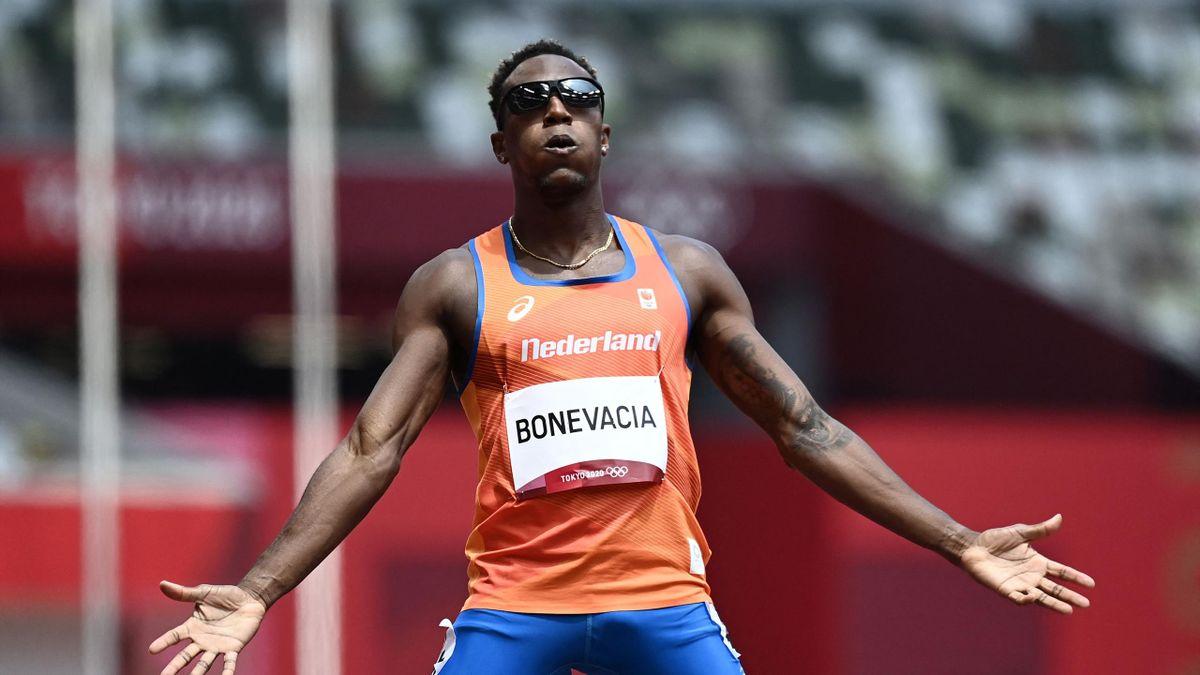 Tokyo 2020   Liemarvin Bonevacia wint zijn heat op de 400m