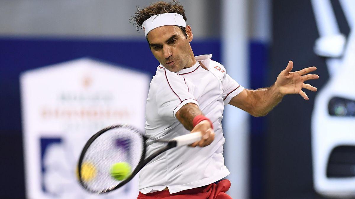 Roger Federer à Shanghaï en 2019