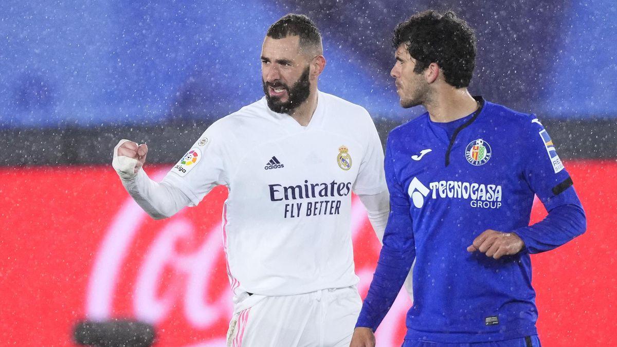 Karim Benzema (links; Real Madrid)