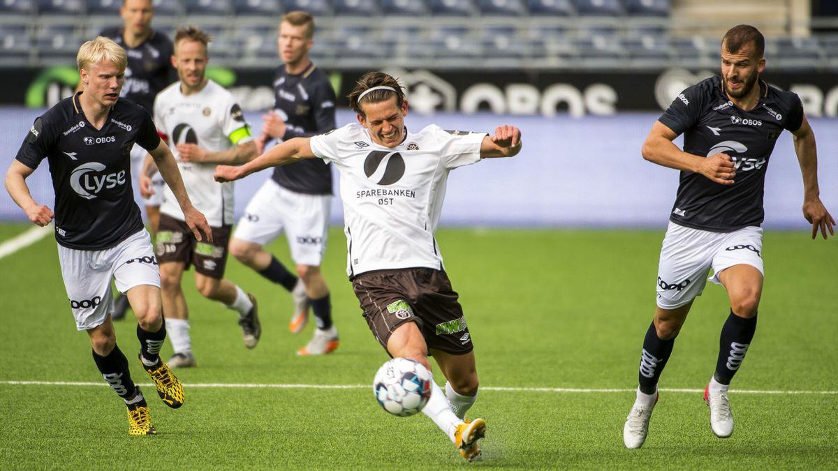 Mjøndalen-spiller Erik Stavås Skistad.