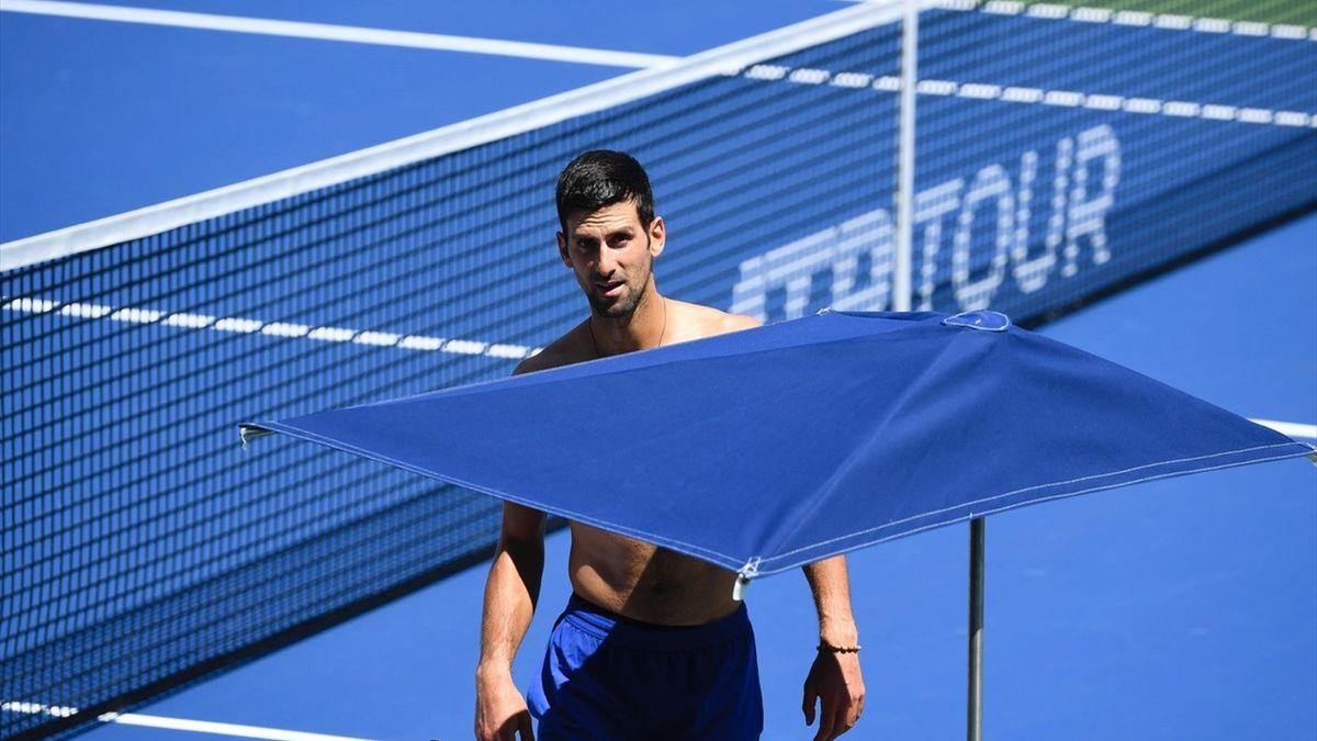Djokovic in voorbereiding in New York