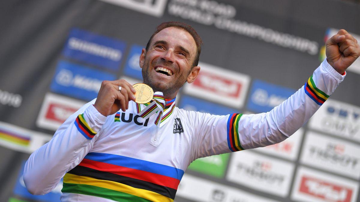 Alejandro Valverde, medalla de oro en Innsbruck 2018