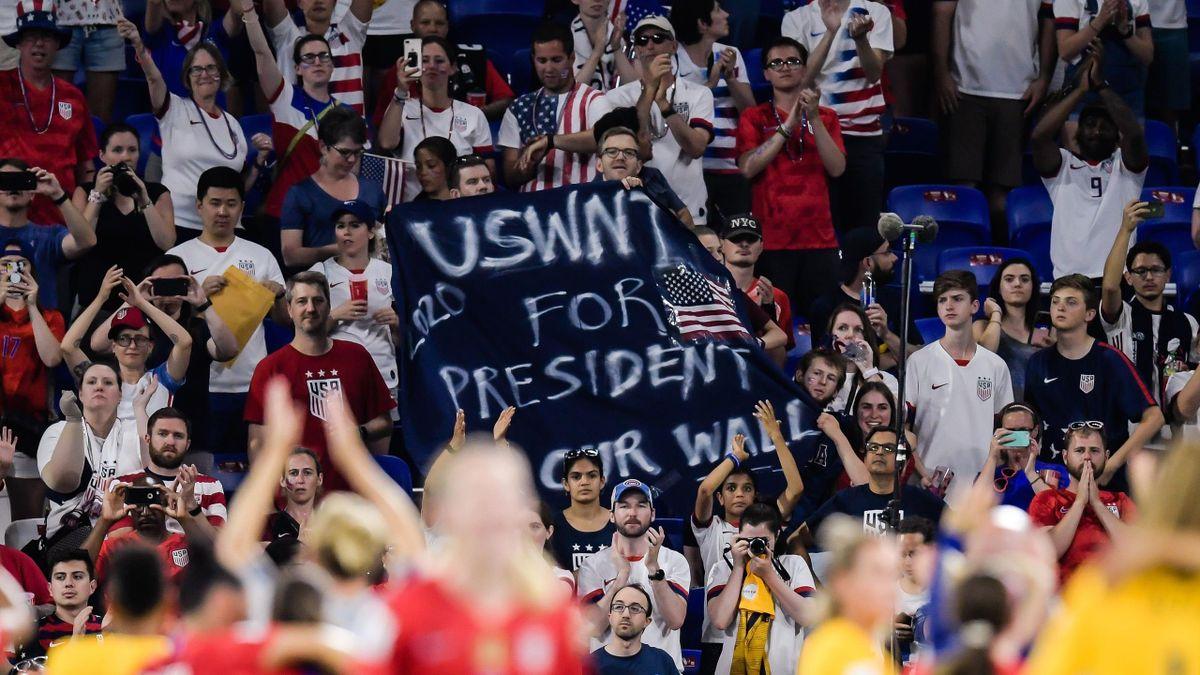 Supporters des Etats-Unis