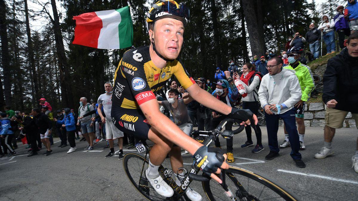 Tobias Foss. Her under Giro d'Italia 2021