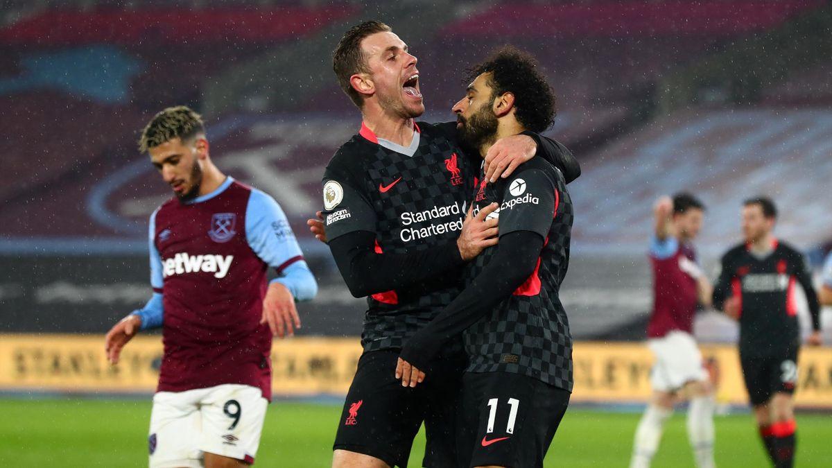 Der FC Liverpool jubelte über einen Auswärtssieg gegen West Ham United