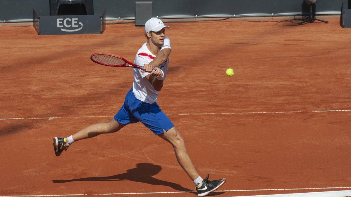 Yannick Hanfmann startete erfolgreich in die Sandplatzsaison