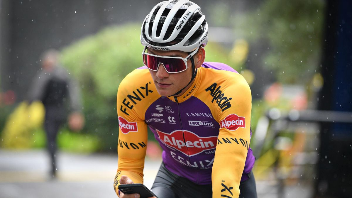 Dutch Mathieu van der Poel of Alpecin-Fenix pictured ahead of a training session ahead of the 108th edition of the Tour de France cycling race, in Brest, France, Friday 25 June 2021. This year's Tour de France is taking place from 26 June to 18 July 2021.