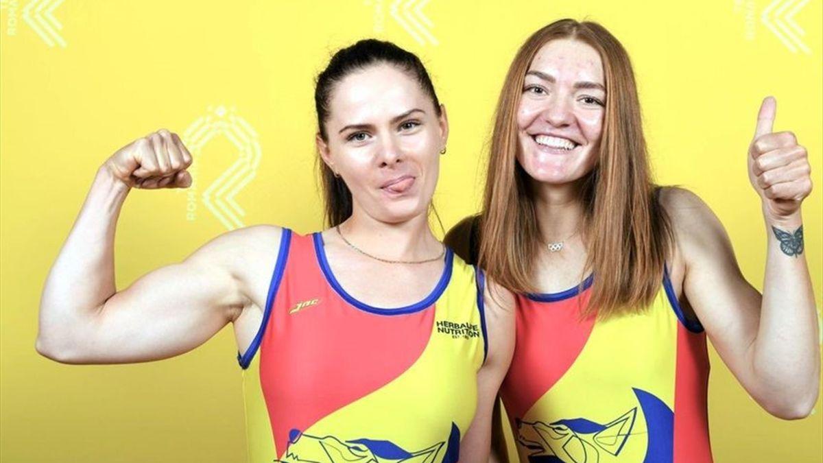 Iuliana Buhuș și Adriana Ailincăi (România)