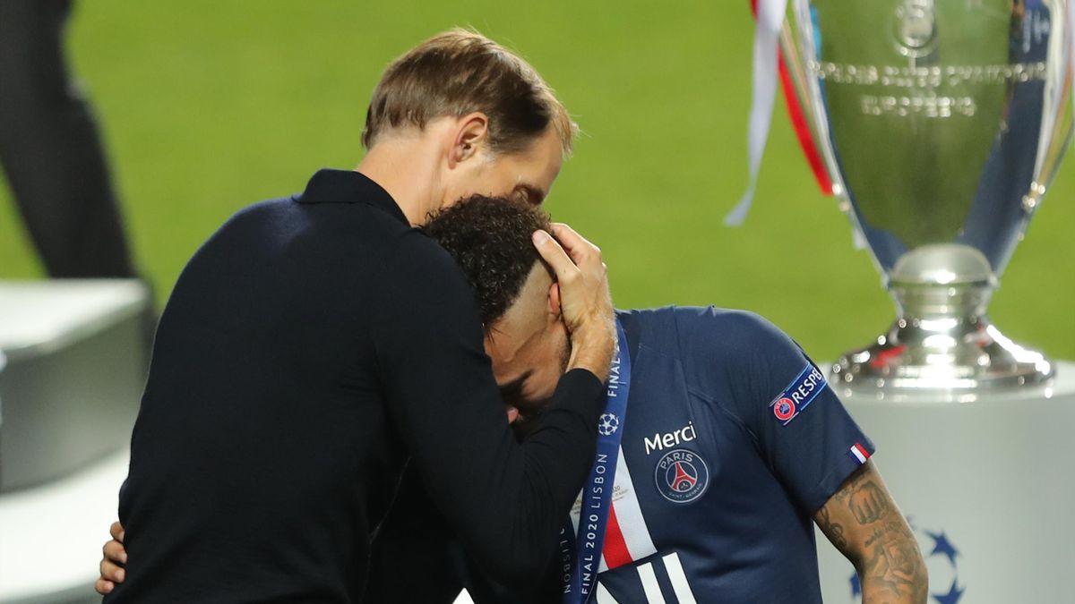 Paris Saint-Germain   Thomas Tuchel și Neymar