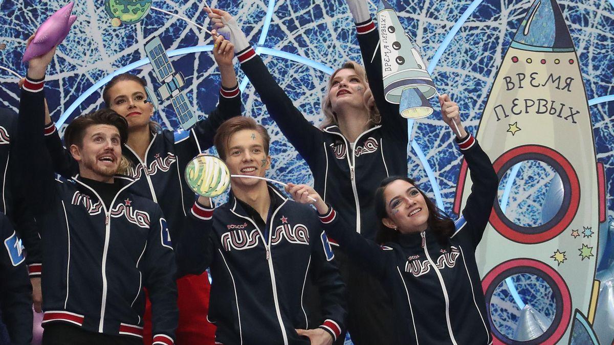 Команда Евгении Медведевой «Время первых»