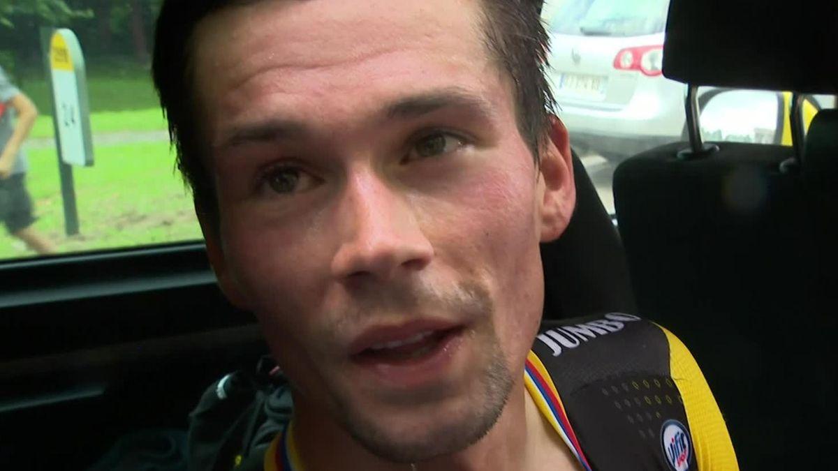 TDF - Stage 20 - Interview Primoz Roglic