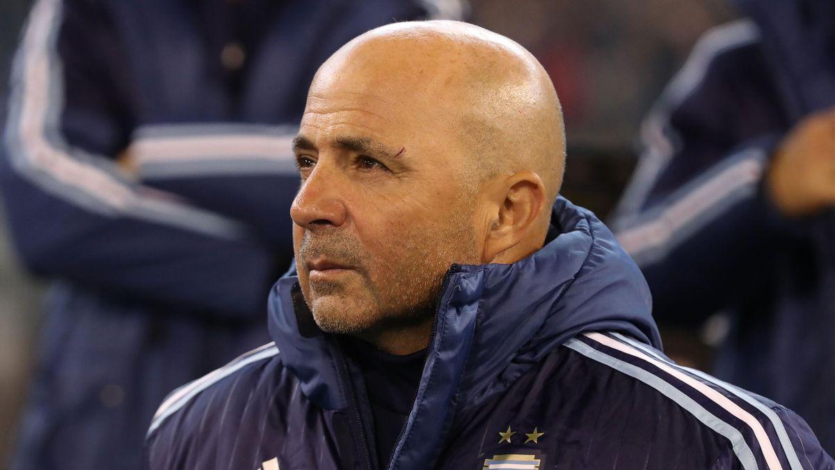 Le sélectionneur argentin Jorge Sampaoli